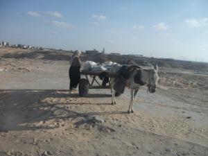 Perempuan Gaza di tepi Pantai