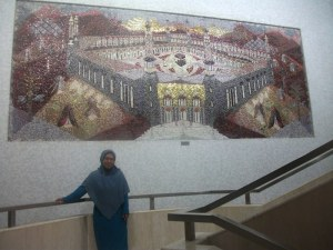 mural Mekkah wanchai