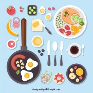 Masak dan makan adalah kesempatan banyak cerita kepada anak