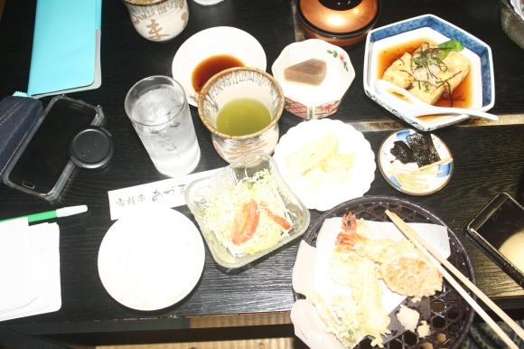 Tempura di Cafe Kazuko Tei, Karatsu