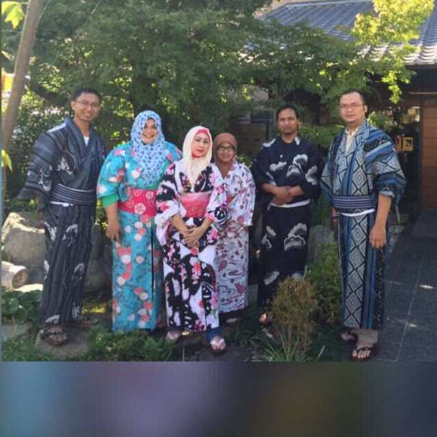 All in Yukata