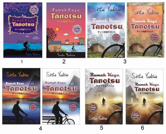 Beberapa pilihan cover Rumah Kayu Tanotsu