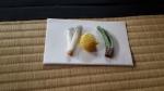 Kue wagashi manis legit sebelum menyantap ocha yg kental