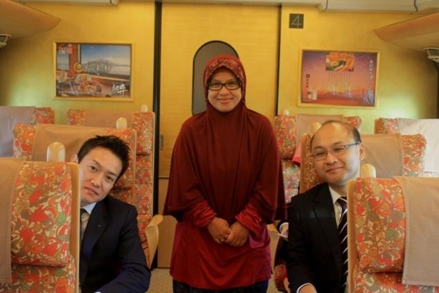 Mr. Yoshida, Sinta Yudisia dan Mr. Asano