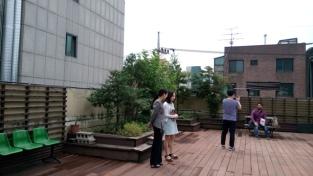 taman di rooftop seogyo