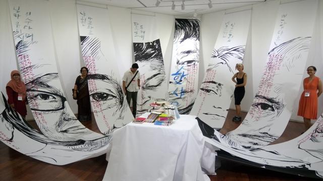 Penulis dan lukisan