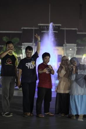 Balai Kota Surabaya malam hari