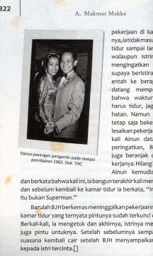 Ainun & BJ Habibie, pernikahan