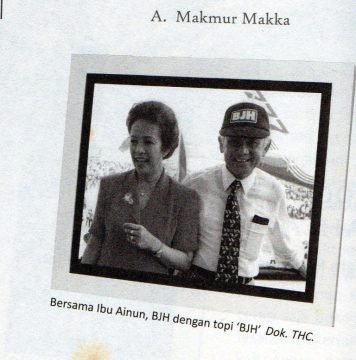 Ainun & BJ Habibie