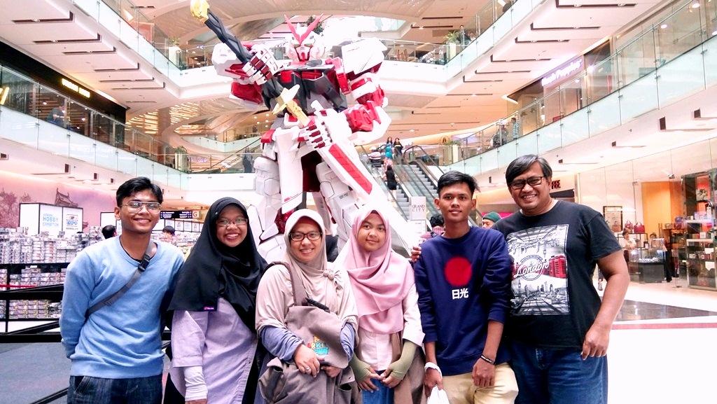 gundam and my family.JPG